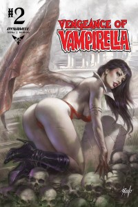 VENGEANCE OF VAMPIRELLA #2 CVR A PARILLO