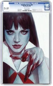 VENGEANCE OF VAMPIRELLA #2 OLIVER CGC GRADED