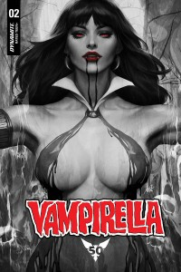 VAMPIRELLA #2 ARTGERM NOIR VAR WITH DRESS