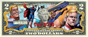 BOYS COLL HOMELANDER TWO DOLLAR BILL