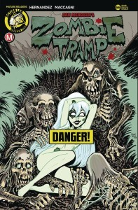 ZOMBIE TRAMP ONGOING #66 CVR D BAUGH RISQUE