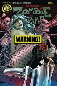 ZOMBIE TRAMP ONGOING #66 CVR F BOO RUDETOONS RISQUE