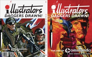 ILLUSTRATORS SPECIAL #5 ART OF COMMANDO COMICS