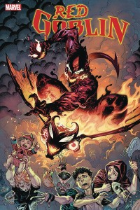 DF RED GOBLIN RED DEATH #1 GLEASON SGN