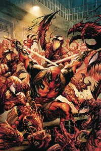 DF ABSOLUTE CARNAGE VS DEADPOOL #1 KIRKHAM SGN