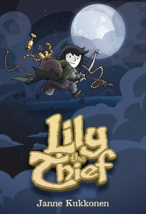 LILY THE THIEF HC GN