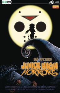 JUNIOR HIGH HORRORS #8 CVR B NBX PARODY