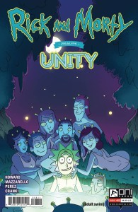 RICK AND MORTY PRESENTS UNITY #1 CVR A CANNON