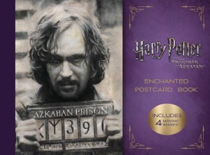 HP & PRISONER OF AZKABAN ENCHANTED POSTCARD BOOK