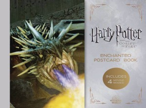 HARRY POTTER & GOBLET OF FIRE ENCHANTED POSTCARD BOOK
