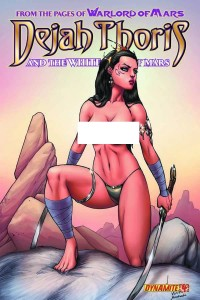 DEJAH THORIS & WHITE APES #4 25 COPY GARZA RISQUE INCV