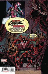 ABSOLUTE CARNAGE VS DEADPOOL #2 (OF 3) 2ND PTG FERREIRA VAR