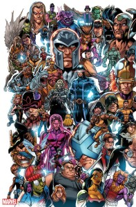 X-MEN #1 BAGLEY EVERY MUTANT EVER VAR