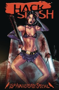 HACK SLASH 15TH ANNV CELEBRATION CVR B SEELEY (ONE-SHOT)