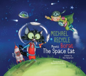MICHAEL RECYCLE & BORAT SPACE CAT HC