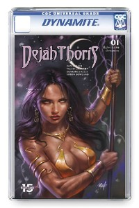 DEJAH THORIS (2019) #1 PARRILLO CGC VAR