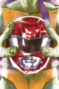 POWER RANGERS TEENAGE MUTANT NINJA TURTLES #1 CVR E MONTES