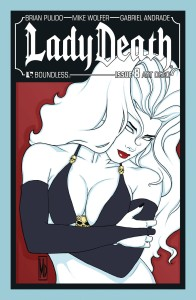 LADY DEATH #8 ART DECO VARIANT