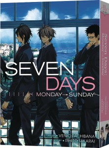 SEVEN DAYS MONDAY - SUNDAY COMPLETE GN