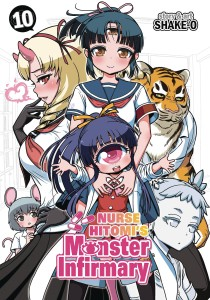 NURSE HITOMIS MONSTER INFIRMARY GN VOL 10