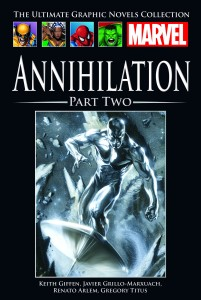MARVEL COMICS GN COLL VOL 209 HC ANNIHILATION PART 2