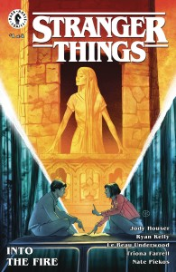 STRANGER THINGS INTO THE FIRE #1 (OF 4) CVR A KALACHEV