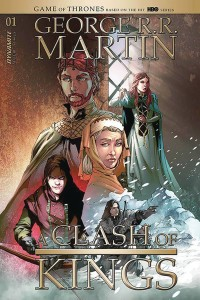 GEORGE RR MARTIN A CLASH OF KINGS #1 CVR B RUBI