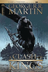 GEORGE RR MARTIN A CLASH OF KINGS #1 CVR D GUICE