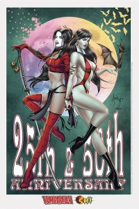 BILLY TUCCI EXC SHI VAMPIRELLA LITHO SGN ED