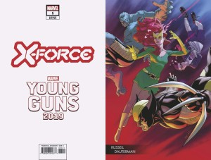 X-FORCE #1 DAUTERMAN YOUNG GUNS VAR