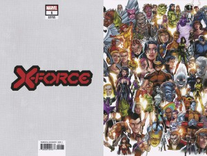 X-FORCE #1 BAGLEY EVERY MUTANT EVER VAR