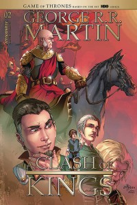 GEORGE RR MARTIN A CLASH OF KINGS #2 CVR B RUBI