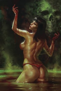 VENGEANCE OF VAMPIRELLA #5 PARRILLO LTD VIRGIN CVR
