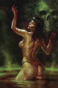 VENGEANCE OF VAMPIRELLA #5 PARRILLO LTD SEDUCTION CVR
