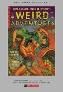 PRE CODE CLASSICS WEIRD ADVENTURES HC VOL 01