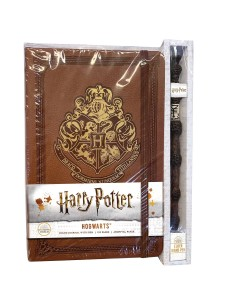 HARRY POTTER HOGWARTS HC RULED JOURNAL (WITH PEN)