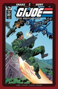 GI JOE A REAL AMERICAN HERO #267 CVR A ATKINS