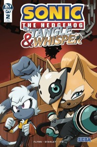 SONIC THE HEDGEHOG TANGLE & WHISPER #2 (OF 4) 10 COPY INCV VAR