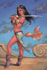 DEJAH THORIS (2019) #4 LINSNER LTD VIRGIN CVR