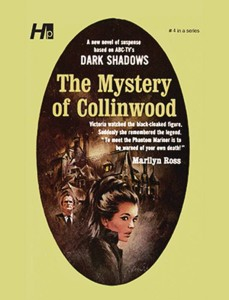 DARK SHADOWS PAPERBACK LIBRARY NOVEL 04 MYSTERY OF COLLINWOOD