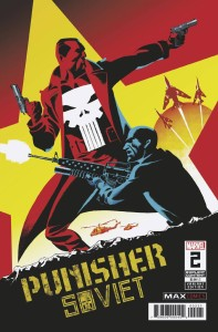 PUNISHER SOVIET #2 (OF 6) MARTIN VAR