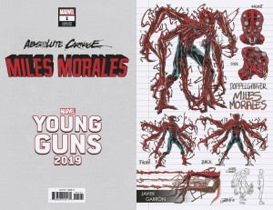 ABSOLUTE CARNAGE MILES MORALES #1 (OF 3) GARRON YOUNG GUNS VAR