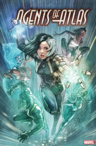 AGENTS OF ATLAS #3 (OF 5) STONEHOUSE VAR