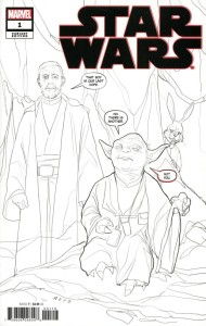 STAR WARS #1 PARTY SKETCH VAR