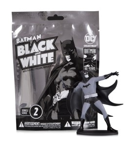 BATMAN BLACK & WHITE BLIND BAG MINI FIGS W 2