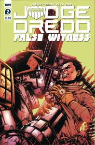 JUDGE DREDD FALSE WITNESS #2 (OF 4) CVR A ZAMA