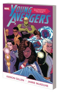 YOUNG AVENGERS BY GILLEN MCKELVIE COMPLETE COLLECTION TP