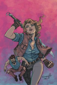 DEATH TO ARMY OF DARKNESS #3 DAVILA LTD VIRGIN CVR