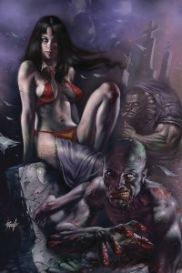 VENGEANCE OF VAMPIRELLA #7 PARRILLO LTD VIRGIN CVR