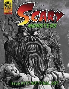 SCARY MONSTERS MAGAZINE #117